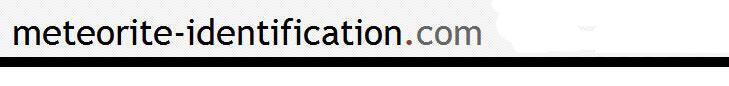 METEORITE-IDENTIFICATION.COM